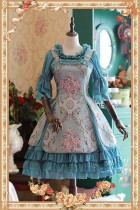 Infanta  -Windsor's afternoon tea- Three-dimensional Relief Lolita JSK + Chiffon Petticoat Set