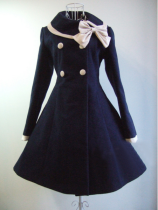 Princess Faith Classic Elegant Wool Long Lolita Coat