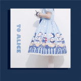 Tommy Bear ~ Kitty Sailor Navy Neck  Sweet OP Dress