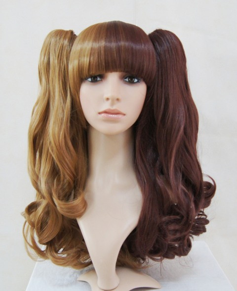 Light Deep Blonde Lolita Shoulder Hairpiece
