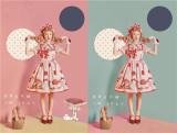 Dream In July ~Mushroon Has Power~ Sweet Lolita JSK -Ready Made