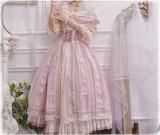Miss Point ~ Salley Garden 2.0 Embroidery Vintage High Waist Lolita Skirt