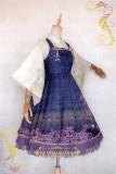 IchigoMiko ~Night Sakura Krathong~ Lolita JSK Dress Version II -Pre-order