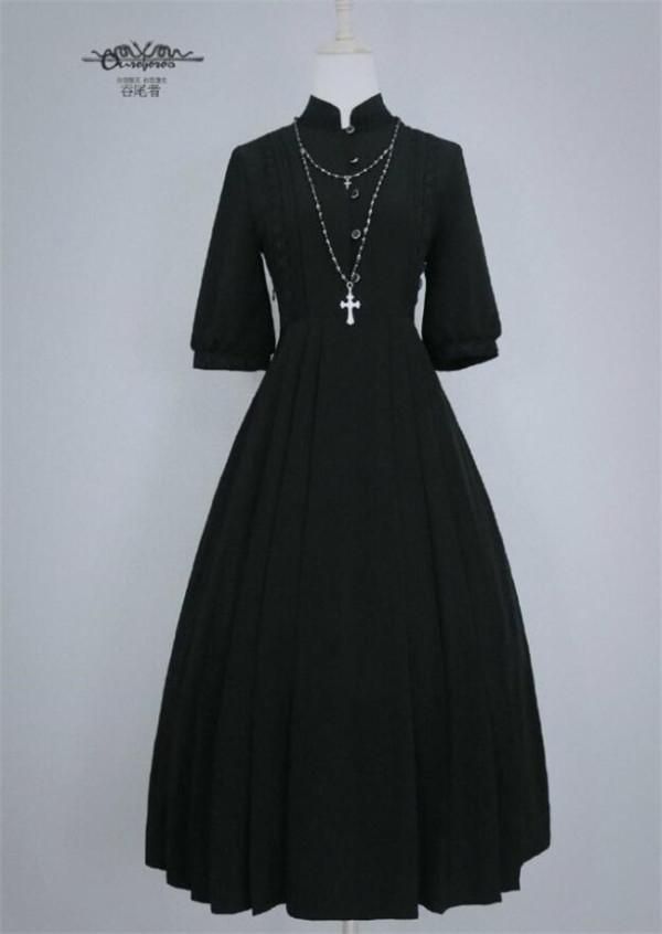 Joan~ Vintage Lolita OP Dress Autumn Edition -In Stock