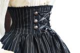 Dailywear Version Fish-bone Striped Lolita Skirt