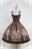 Neverland Lolita -Steampunk Cat- Lolita Normal Waist JSK -Pre-order