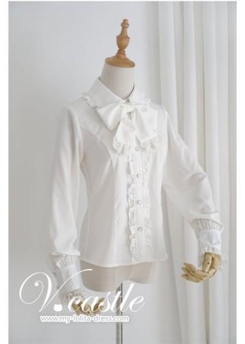 Vcastle - Gothic Lolita Long Sleeves Blouse