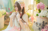 The Secret Key Of Elves~ Elegant Lolita OP Beige XL In Stock