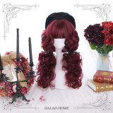 Dalao Home ~ Into Red Velvet~ Lolita Wigs 60cm