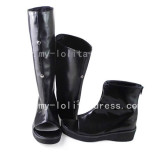 Gothic Black Changeable Shaft Boots