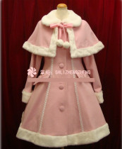 Merry Christmas~Winter Thick Lolita Long Coat&Cape