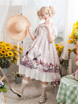 Rural Duck~ Sweet Lolita OP/JSK -Ready Made