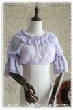 Infanta Hime Sleeves Chiffon Lolita Short Version Blouse
