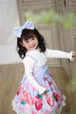 Starwish~ Cream Strawberry~ Sweet Cute Lolita Jumper for Kids