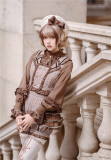 Little Dipper ~Nutella Heavy Ruffles Lolita Blouse -Pre-order