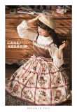 Dream In July ~ Strawberryfield Morining Melody~ Classic Lolita Jumper -Ready MADE