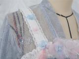 Sakura Carp Heavy Hand-made Lolita JSK Set -Ready Made