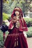 Bourbon Dynasty Series Baroque Embroidery Lolita Jumper Dress