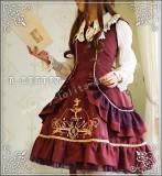 Odette Mansion Velvet Wine Lolita JSK