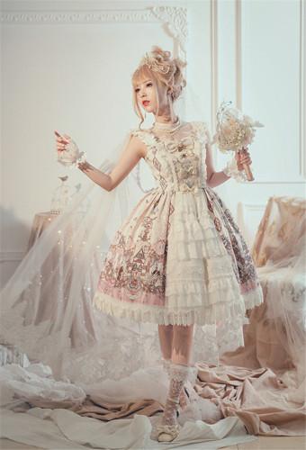 Milu Forest ~Swan Wedding~ Lolita OP/JSK -Pre-order