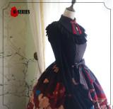R-series ~Pandas & Lucky Clouds~ Qi Lolita JSK Version II