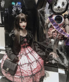 Diamond Honey ~Leopard Cat Gothic Lolita JSK -Pre-order
