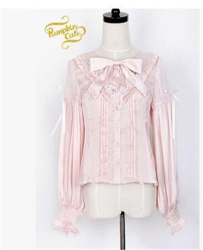 Bacopa Garden~ Lolita Long Sleeves Blouse