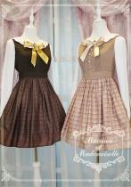 Chess Story -Macaron et Mademoiselle-Lolita Long Sleeves OP Dress