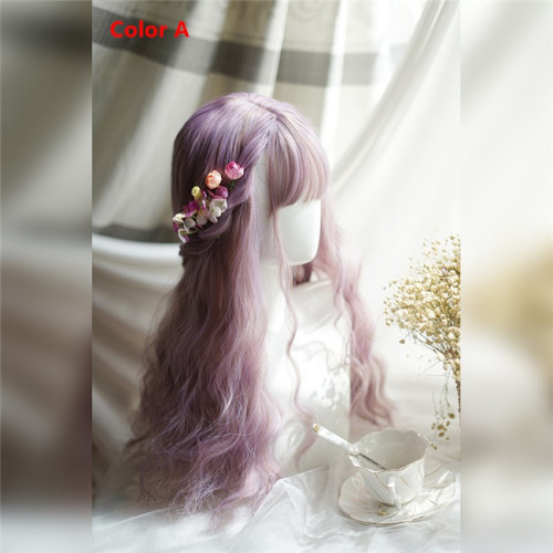 Sweet Corn Wary Lolita Long Wigs 60CM