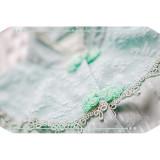 IchigoMikou ~Drizzle & Thin Clouds~ Qi Lolita Blouse -In Stock