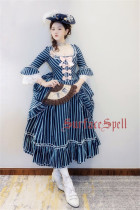 Surfacespell ~ The Duchess*Rococo~ Elegant Lolita OP -Custom Tailor Available