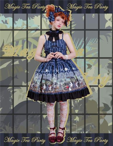 Magic Tea Party ~Garden Restaurant Soft Lolita Jumper -Ready Made