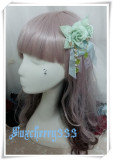 The Little Angel Who Sings The Blessing Poem~ Sweet Rose Lolita Hairclip/Brooch 2 Ways