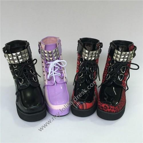 Sweet Girl's Lolita Short Shoes-4 Colors
