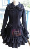 Double-layers Collar Lolita Winter Jacket