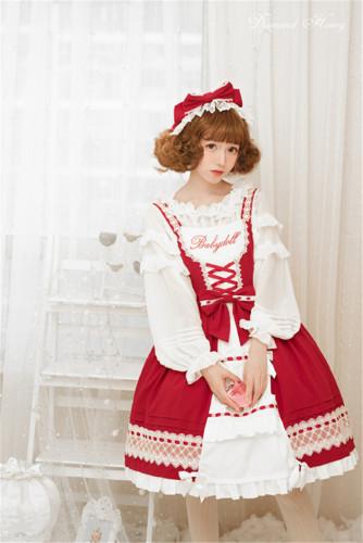 Anna Baby~ Lolita JSK Dress Red L In Stock