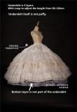 Sissi Promise Anniversay Reward OP Fullset/Luxury Underskirt  - Pre-order Green XS & Blue M - In Stock