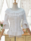 Sweet Lolita Flare Sleeves Blouse