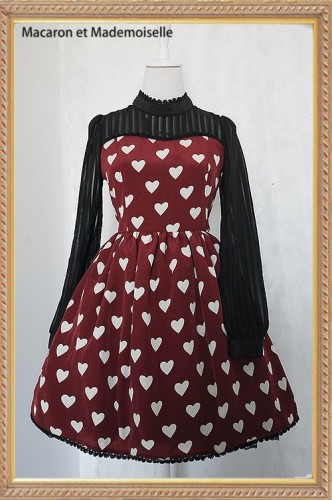 Chess Story The Queen of Hearts Lolita OP Dress