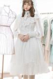 Vintage Lolita Long Sleeves OP Dress