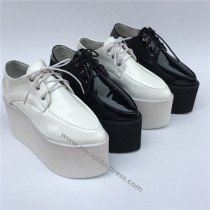 High Platform Sweet Glossy Lolita Shoes