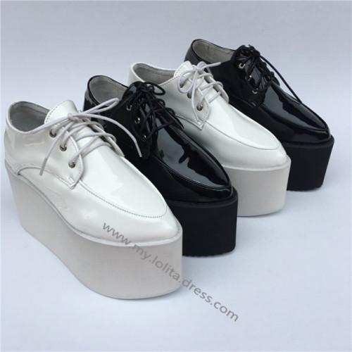 High Platform Sweet Glossy Lolita Shoes