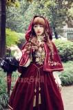 Bourbon Dynasty Series Baroque Embroidery Lolita Cape