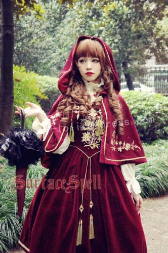 Bourbon Dynasty Series Baroque Embroidery Lolita Cape