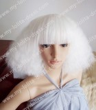 White Dynamite Short Lolita Wig 5 Colors