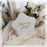 Monring Glory~ Sweet Lolita Pouch -Ready Made