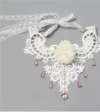 Baroco Style~Vintage Lace Collarbone chain Lolita necklace-out