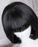 Girl's Sweet Black Lolita Bobo Wig