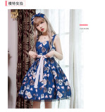 Sweet Summer Lolita Printed Jumper Size S in Stock