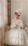 Secret Garden In Midsummer ~Elegant Lolita Bridal Dress -Ready MADE